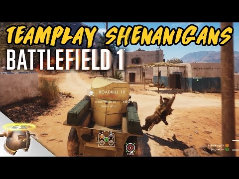 Teamplay Casual Shenanigans in the Battlefield 1 Beta (1440p, 60 FPS) | RangerDave |