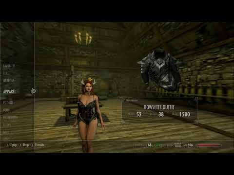 Skyrim (mods) - Helena - Spotlight On: Bowsette Armor 4K