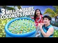 3 MILLION COCONUTS SUBSCRIBERS PARTY | Ranz and Niana