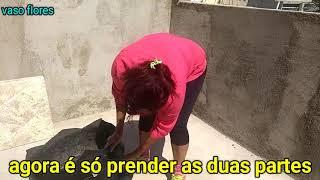 FAÇA UM LINDO VASO DE PNEU /DIY