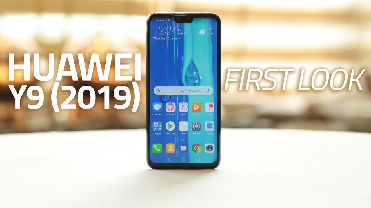 Huawei Y9 (2019) First Look | Four AI Cameras, GPU Turbo Technology, and  More