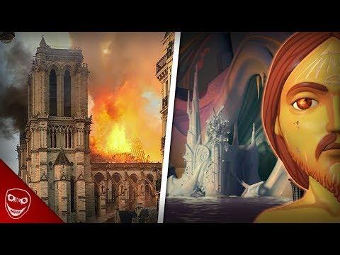 Gruseliger Kurzfilm sagt Feuer in Notre Dame vorher? I, pet Goat II!