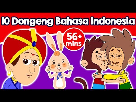 10 Dongeng Bahasa Indonesia - Cerita Untuk Anak-Anak | Animasi Kartun | Kids Stories in Indonesian