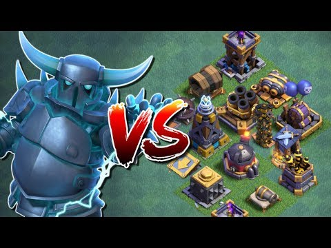 SUPER PEKKA vs ALL DEFENCES in