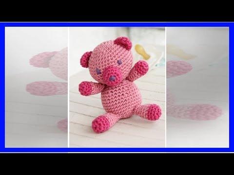 Youtube-Tutorial: Gratis-Strickanleitung für einen Teddybär