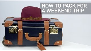 How to Pack for a Weekend Trip | Travel + Leisure thumbnail