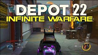 DEPOT 22: EARLY GAMEPLAY (Infinite Warfare DLC 4 Retribution)