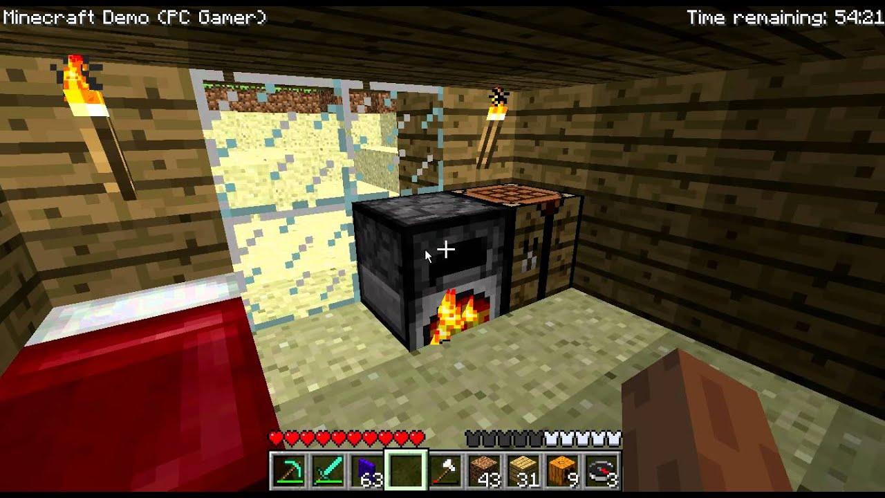 Minecraft PC Gamer Demo Gameplay GermanDeutsch YouTube - Minecraft demo spielen kostenlos