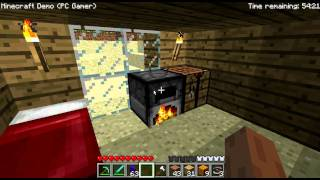 Minecraft PC Gamer Demo Gameplay (German/Deutsch)