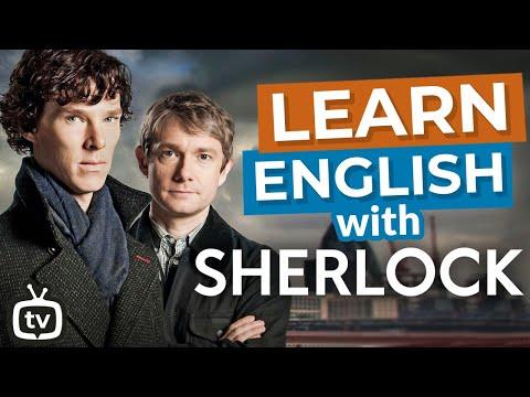 Learn British English With Sherlock | Sherlock And Watson's First Meeting