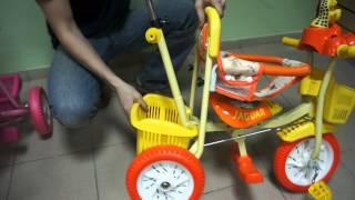 Детский трёхколёсный велосипед Jaguar ms-545/1(Видео обзор детского трёхколёсного велосипеда Jaguar ms-545/1 http://sportseason.ru/store/ms-0545-1 http://sportseason.ru/store/ms-0545., 2012-03-19T05:07:58.000Z)