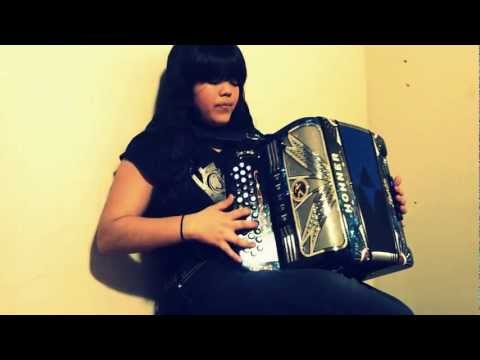 This is Andrea Rodriguez the accordion player for Dedicados Al Rey playing the Scale La Bemol on the FBE accordion.