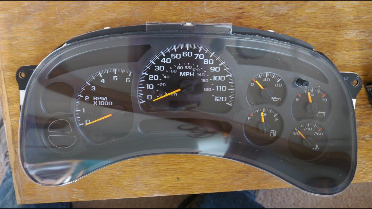 Speedometer Stepper Motor Replacement 2003 Suburban Hd