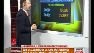 C5N - ECONOMIA: ARGENTINA, LIDER EN PROTECCIONISMO