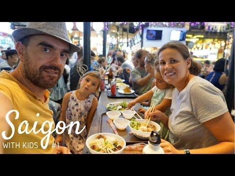 Ho Chi Minh City With Kids: Travel Vlog Vietnam Part 1