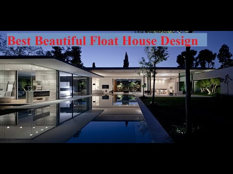 Best Beautiful Float House Design # By Architect Pitsou Kedem Architects From Israel
