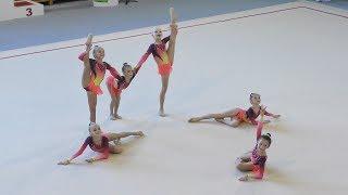 Gimnastyka artystyczna: SGA Bielsko-Biała - Jantar Cup 2018 (układ taneczny)