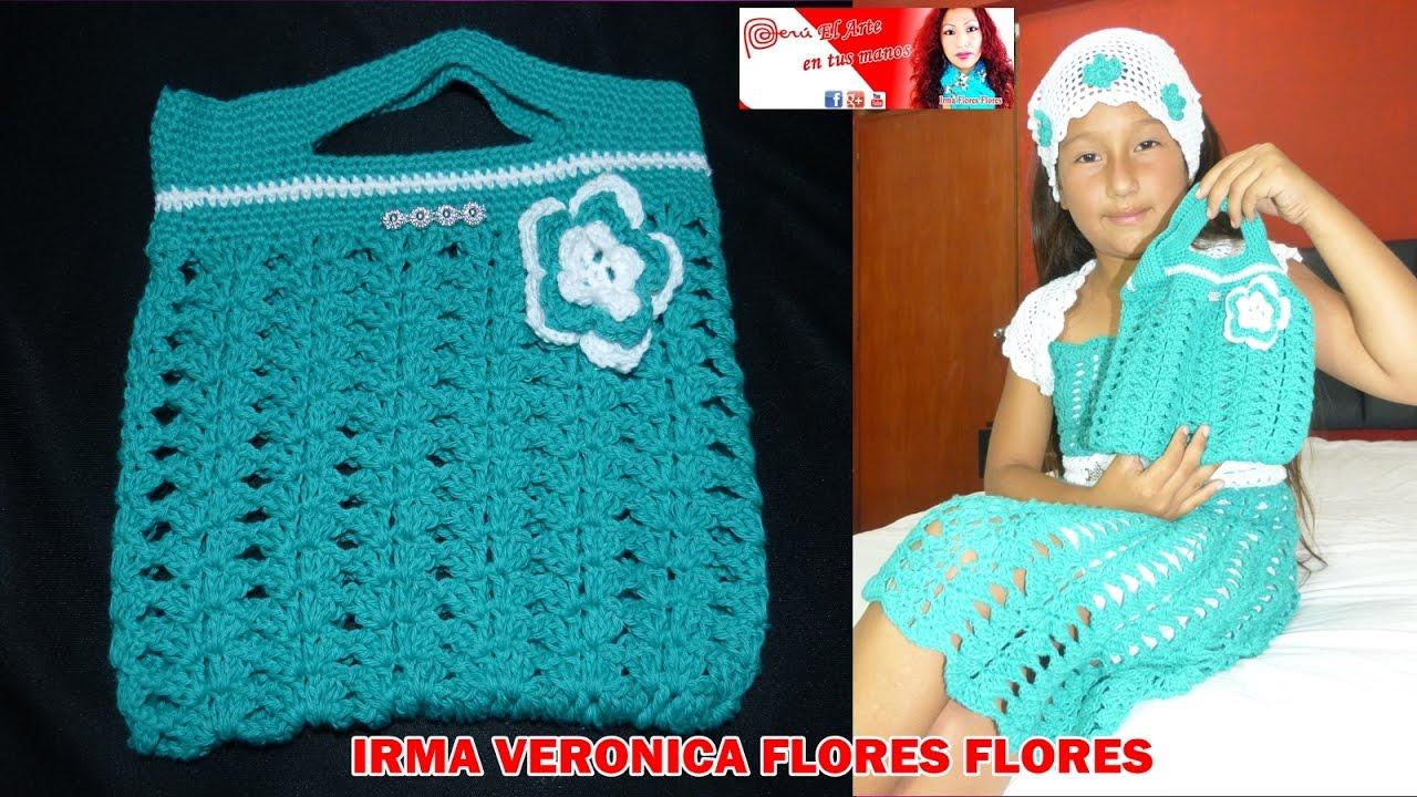 Como tejer este bolso de mano tejido a crochet ganchillo - Bolsos tejidos a crochet ...
