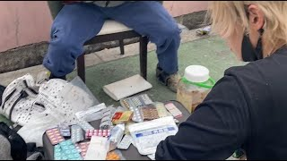 西成あいりん地区の闇市の売人に違法薬物を見せてもらったらヤバすぎた…