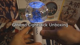 Gfriend 1st Official Lightstick Unboxing! (Glass Marble Stick)