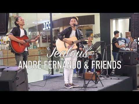 Labrinth - Jealous (Live Cover By Andre Fernando & Friends)