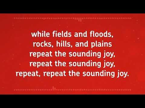 Joy To The World – FWBC Christmas Carol