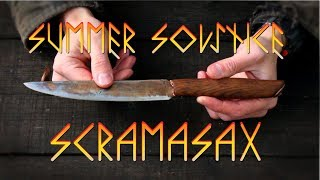 Forging a Viking Knife on the Summer Solstice- Part 1