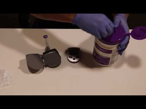 Disinfect Meter With Microdot Minute Wipe