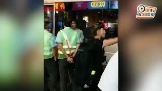 每日一片:上唔到車躁爆 乘客大鬧巴士站