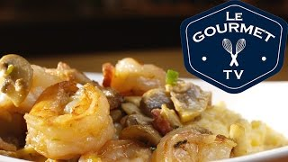 Shrimp & Grits - Recipe - Legourmettv