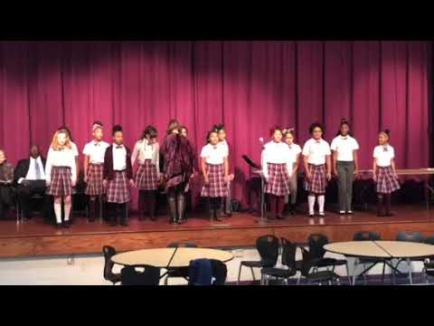 "Charity Adams Earley Girls Academy 5th and 6th grade ""Songs of Freedom"""