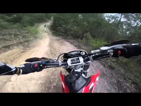 GoPro - Husqvarna Te 250 trail ride