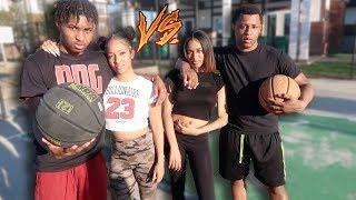 Love and Basketball! DDG & Kennedy vs. VonVon TV & Nyree Raquel