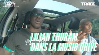 LILIAN THURAM dans la MUSIC DRIVE