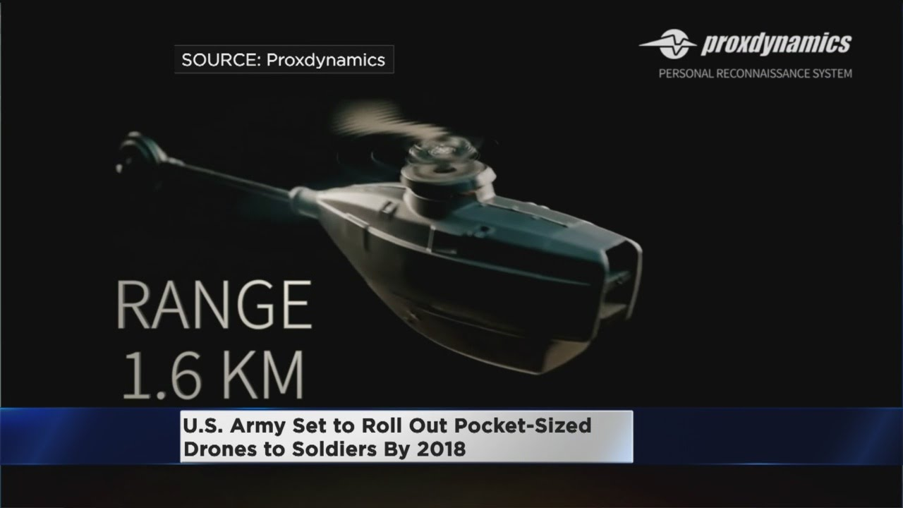 US Soldiers To Carry Pocket Drones By 2018