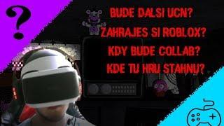 Hraji UCN Poslepu + Bude ROBLOX? [Info/GameplayVideo]