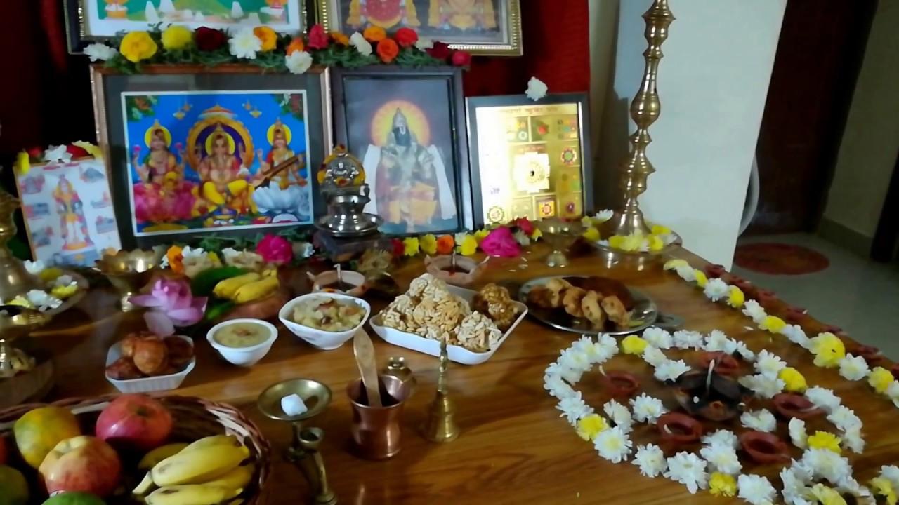 Beautiful DIY Homemade Decoration for Karthigai Deepam ...