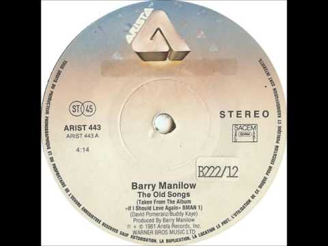 """""""The Old Songs"""" - Barry Manilow (w/ dropdown lyrics)"""