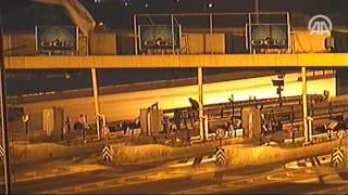 Darbe girişimi gecesi Boğaziçi Köprüsü39;nde yaşananlara ait yeni görüntüler