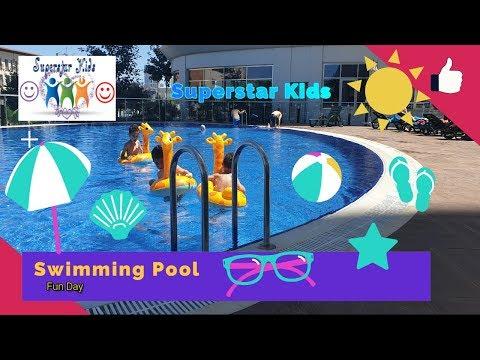 Outdoor Swimming Pool | Floats | Fun Time