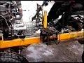 Поделки - Самодельный трактор из Оки