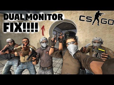 CS:GO DUAL MONITOR MOUSE GLITCH FIX!!!!!!!