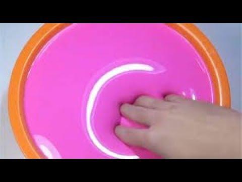 Jiggle Slime Glossy Slime Satisfying Slime Asmr Video Relaxing