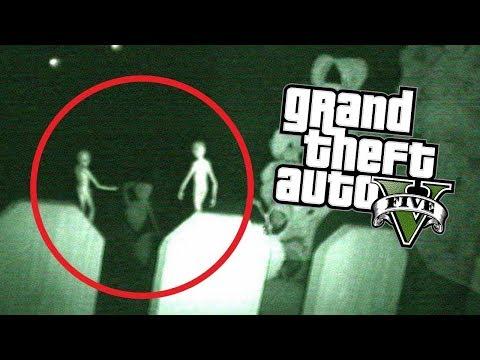 LOS ALIENS NOS INVADEN !! (Terror) - GTA V