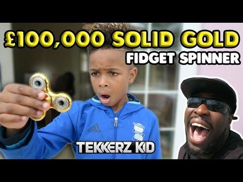 $130,000 SOLID ARAB GOLD FIDGET SPINNER PRANK FAIL!!