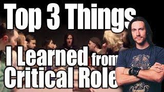 What Matt Mercer & Critical Role Taught Me About D&D