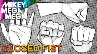 How To Draw HANDS & FISTS FOR BEGINNERS