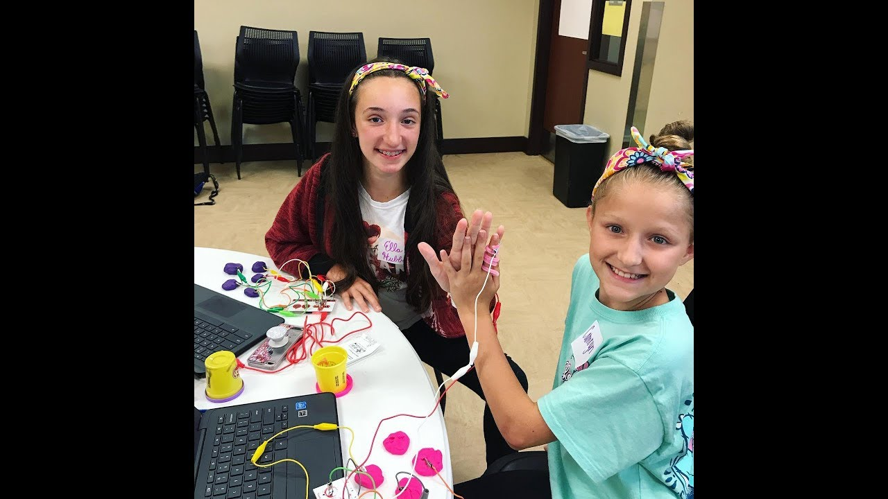 Girls Who Code Summer Session