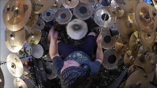 Genesis - Seven Stones Drum Cover (High Quality Sound)