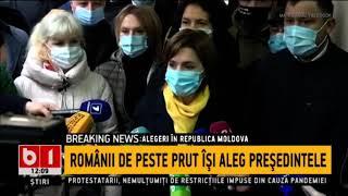 Alegeri in Republica Moldova   Stiri B1 ro   1 noiembrie 2020